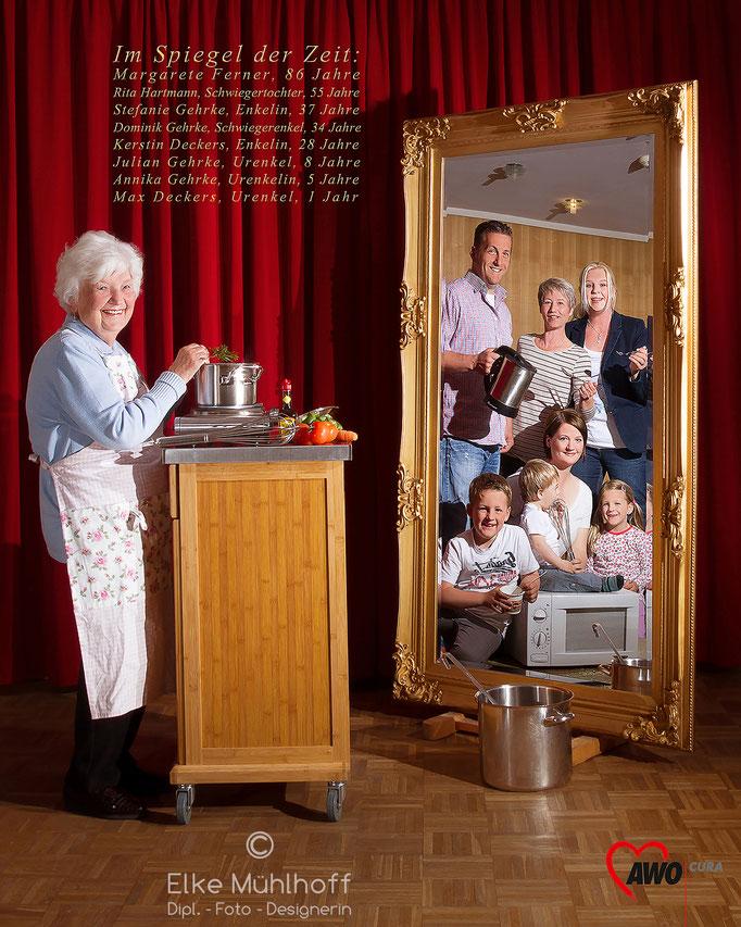 Im Spiegel der Zeit AWO Seniorenzentrum Serie mit Bewohnern und Angehörigen