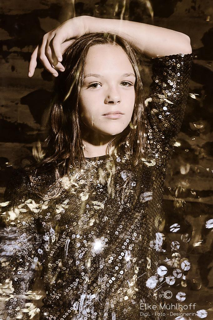 Beauty Teen Pailetten Wusch