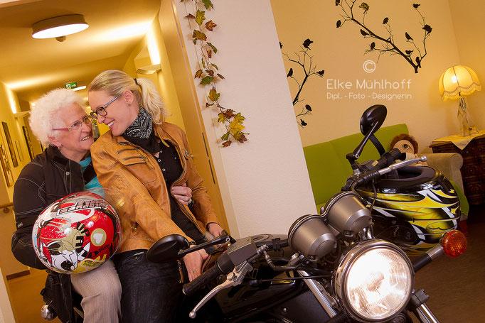 Hobby Mitarbeiter Fotos Image Portrait Bike
