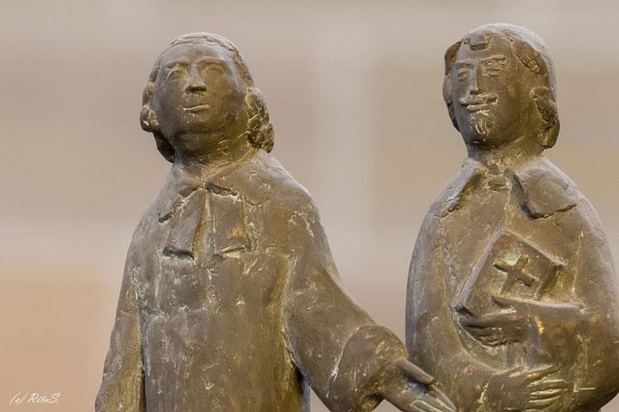 Figur 29 - Erzbischof Friedrich mit Dompastor Johann David Nicolai