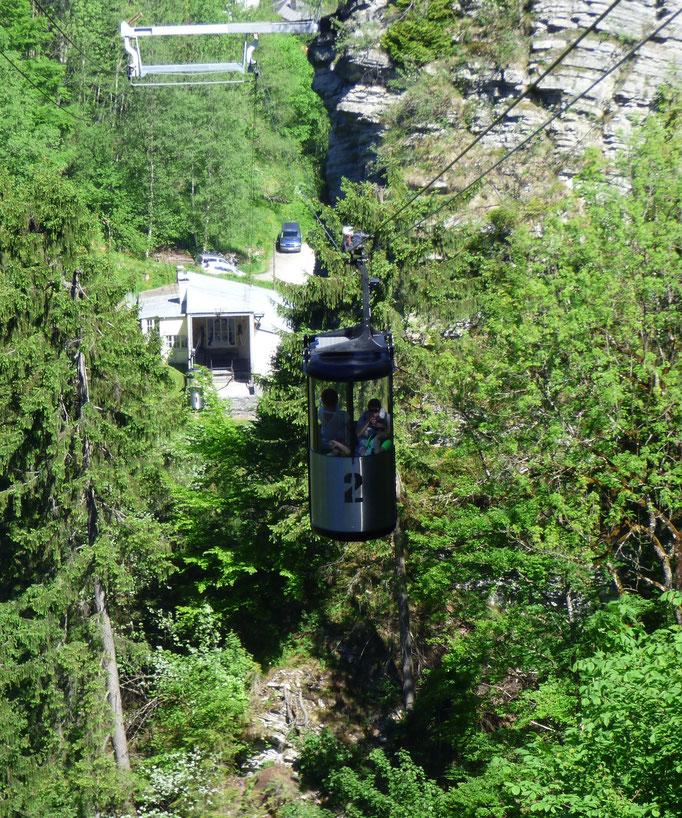Die älteste Kleinkabinenbahn der Welt