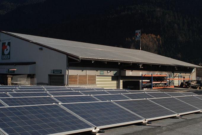 Gewerbe - Photovoltaikanlagen mit Eigenverbrauchslösungen