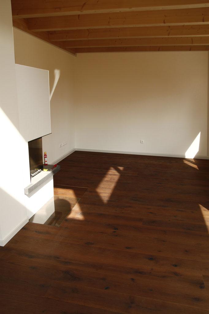 Wohnzimmer Eiche Dunkel Rustikal