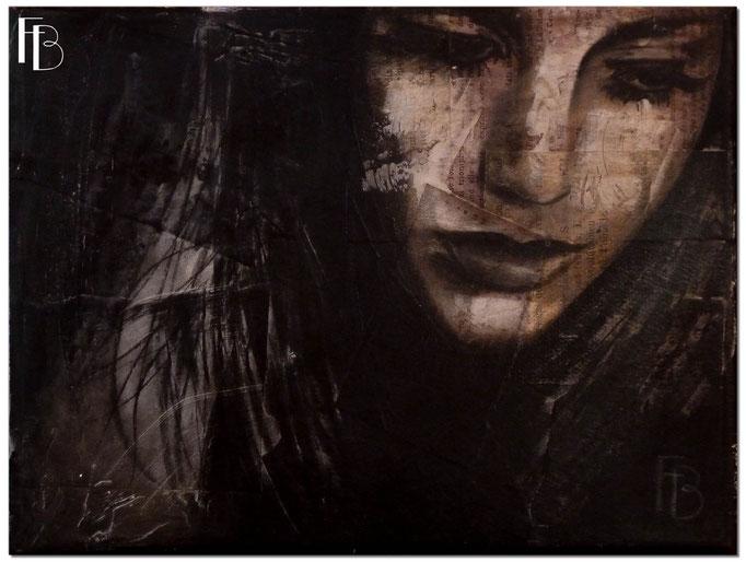 Portrait 9 - Série Stuc (vendu)
