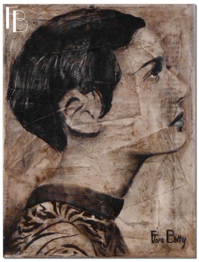 Portrait 1 - Série Stuc