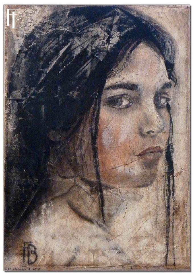 Portrait 18 - Série Stuc (vendu)