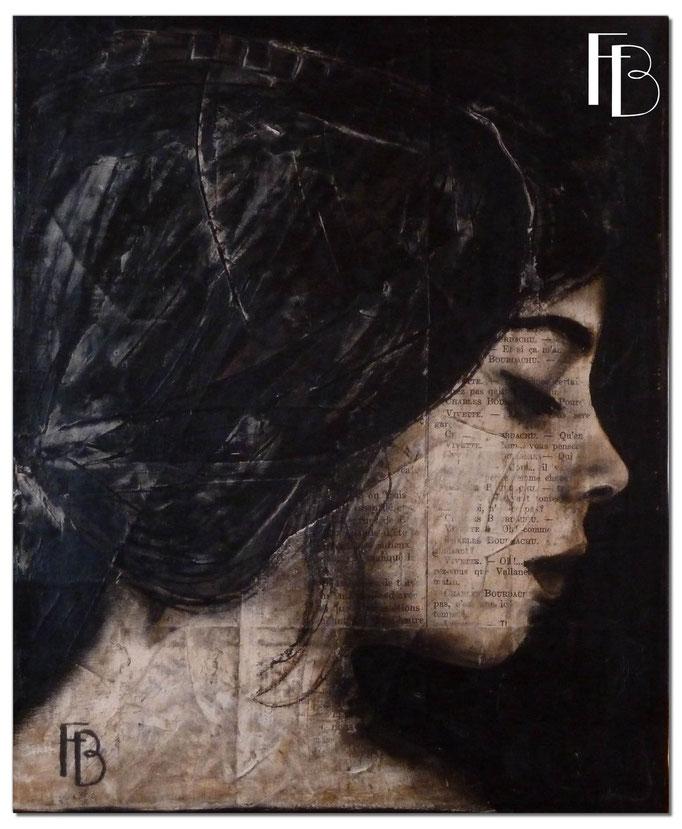 Portrait 4 - Série Stuc (vendu)