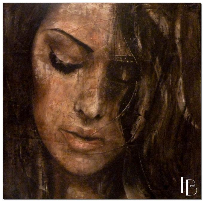 Portrait 22 - Série Stuc (vendu)