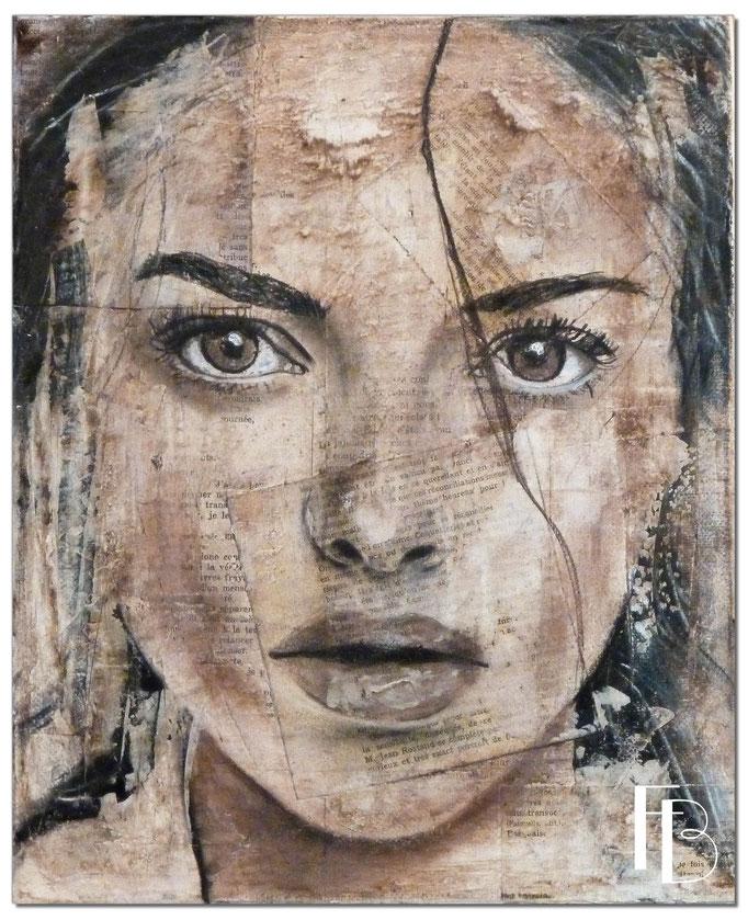 Portrait 34 - Série Stuc