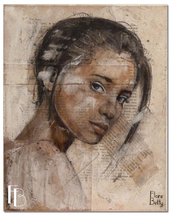 Portrait 63 - Série Stuc