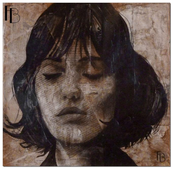 Portrait 3 - Série Stuc (vendu)