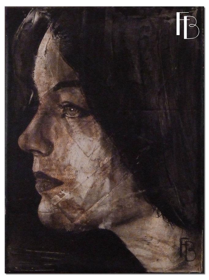 Portrait 8 - Série Stuc (vendu)