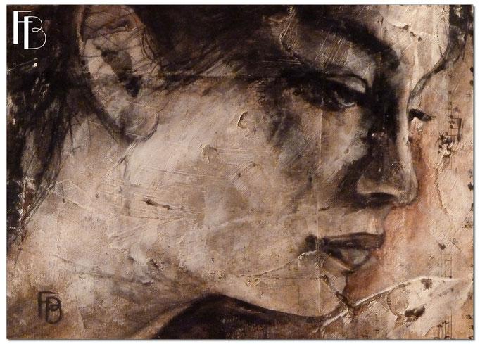 Portrait 14 - Série Stuc