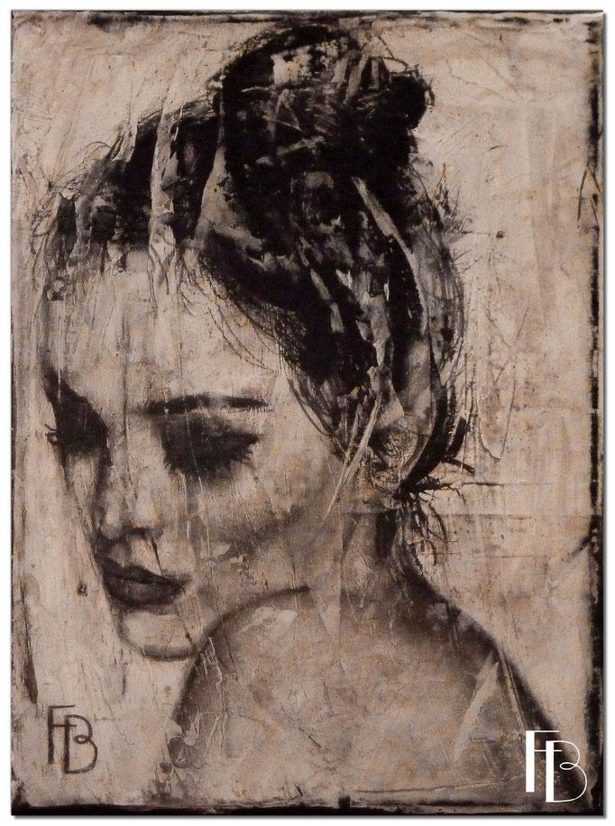 Portrait 13 - Série Stuc (vendu)