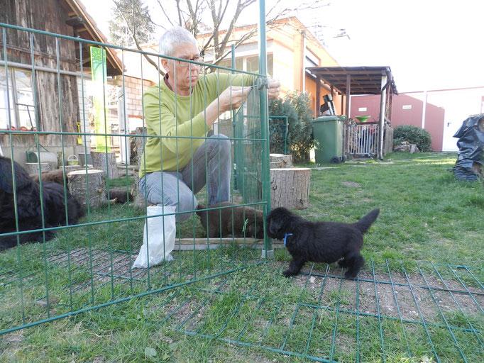 ohhhh, da gibts einen Zaun