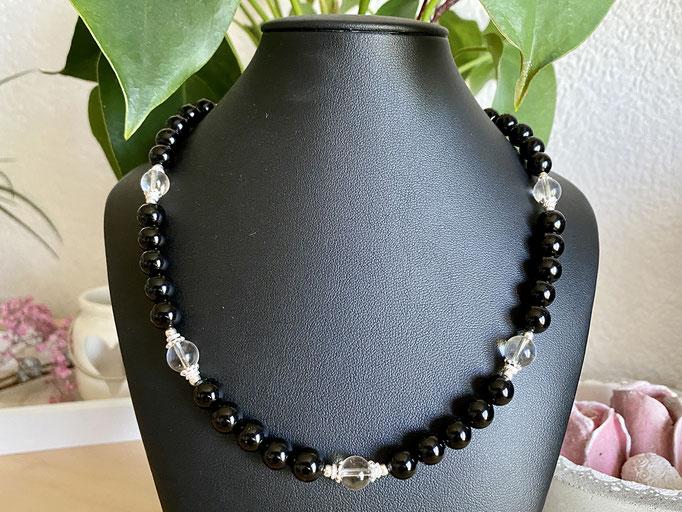 Halskette mit Bergkristall
