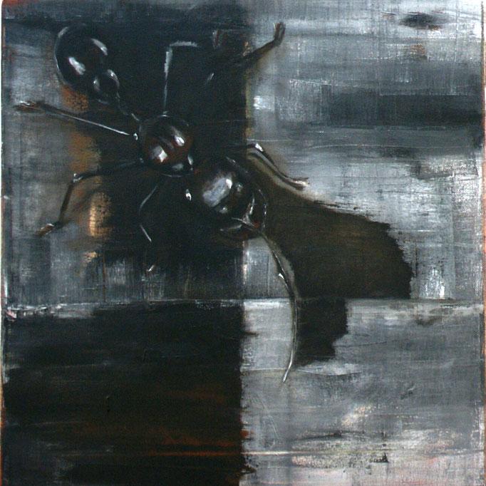 04 Öl auf Leinwand, 40 x  40 cm, 2017