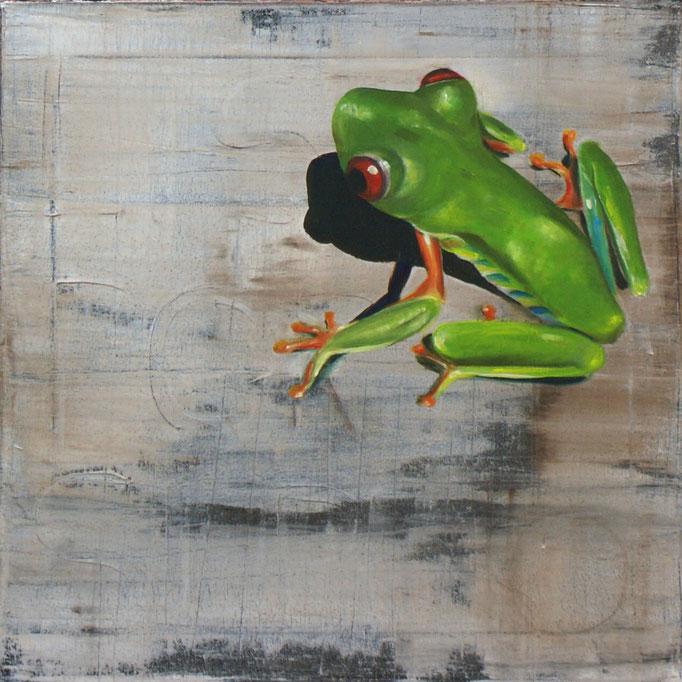 06 Öl auf Leinwand, 40 x 40 cm, 2017