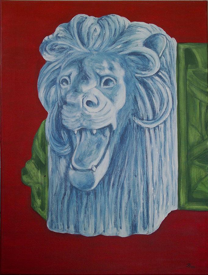 Löwe in bla. 60x80