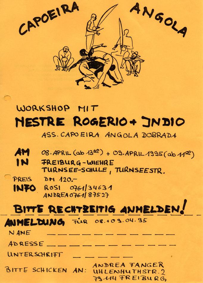 erster Workshop 1995