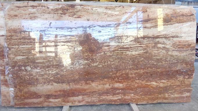 tablero piedra roja pulida