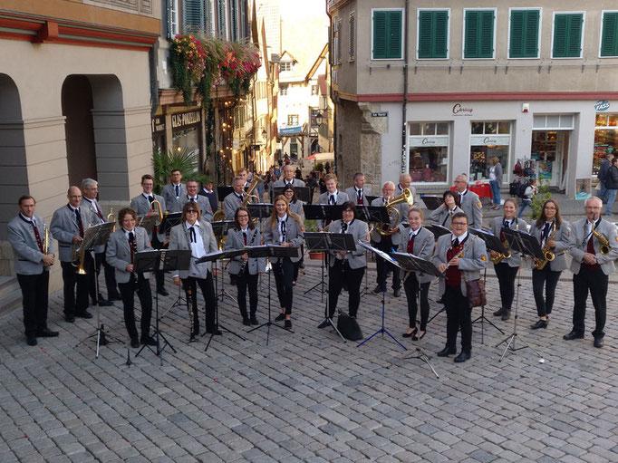 Ständchen beim Vorstand in Tübingen
