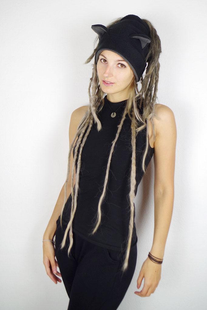CATWRAP dreadtube, Dreadlocks, Headband, Stirnband mit Katzenohren