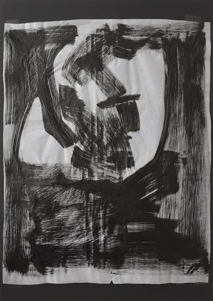Ink head 4 / ink / 50x70cm