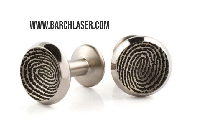 Laser engraving on concave 3D laser