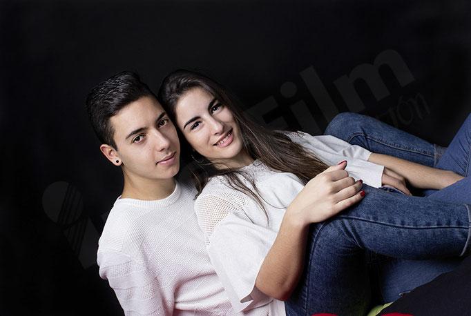 Zuleima y Adrián