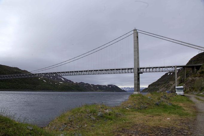 Kvalsund Brücke