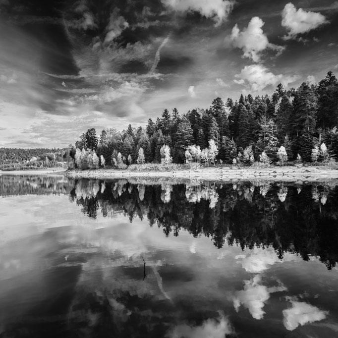 Lac de Pierre-Percée - Réflections II