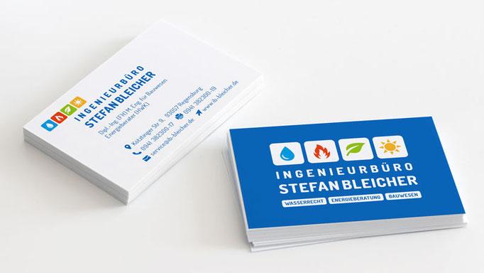 Ingenieurbüro Stefan Bleicher - Visitenkarte
