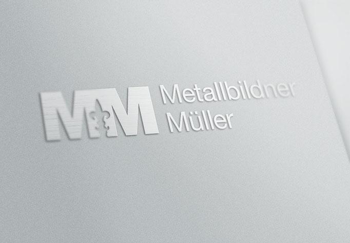 Metallbildner Müller - Logo