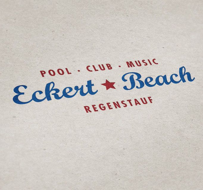 Eckert Beach - Logo