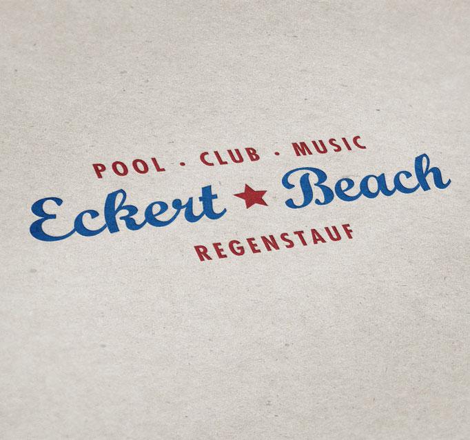 Eckert Beach - Logo