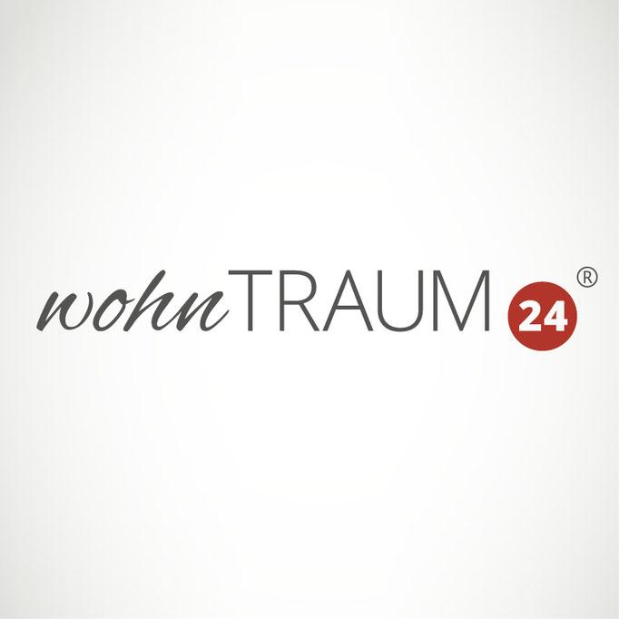 wohnTRAUM24 - Logo für Online-Shop