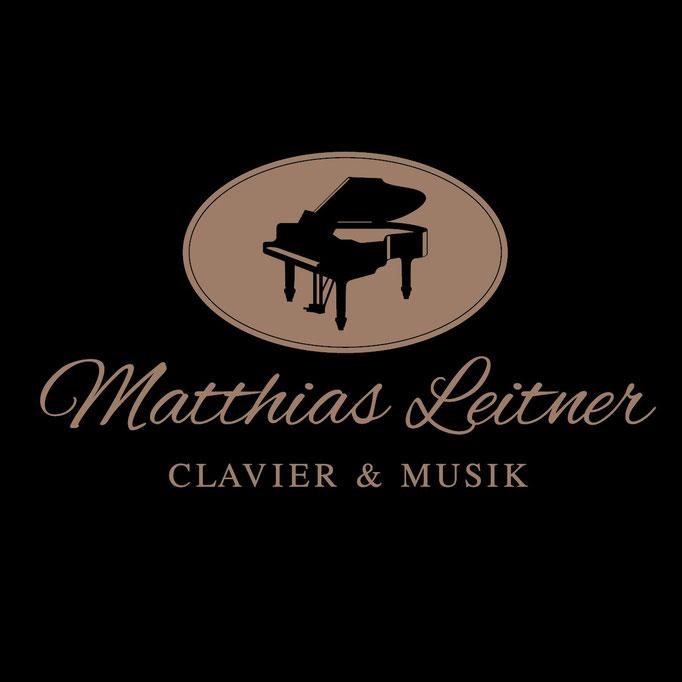 Matthias Leitner Clavier und Musik- Logo