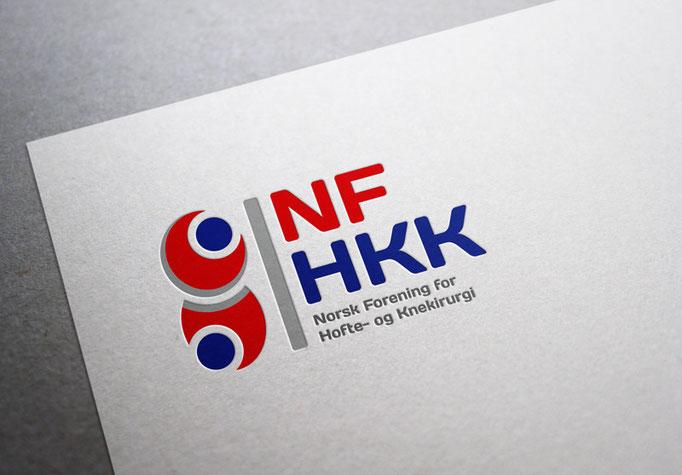 NFHKK  Norsk Forening for  Hofte- og Knekirurgi - Logo