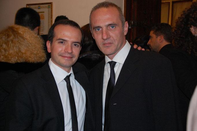 con Michele Josia