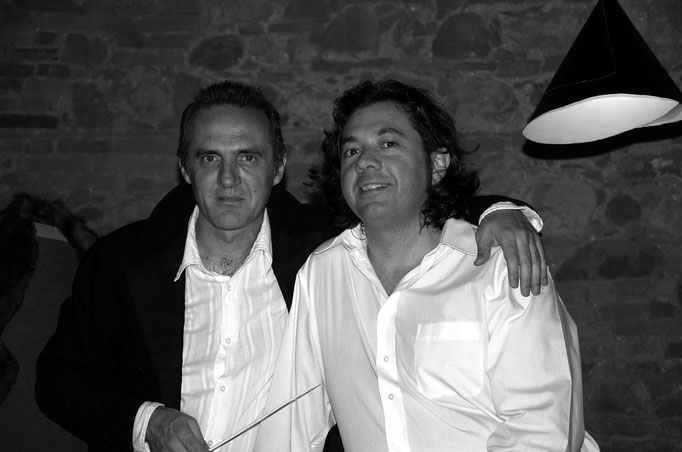 con Stefano Taglietti