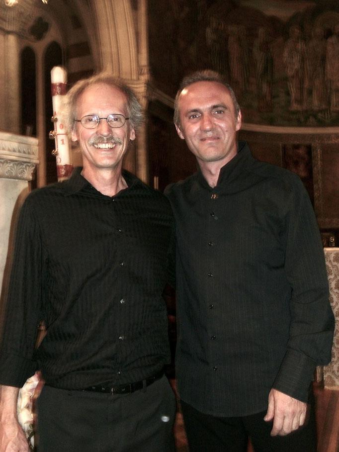 con Paul Crabb