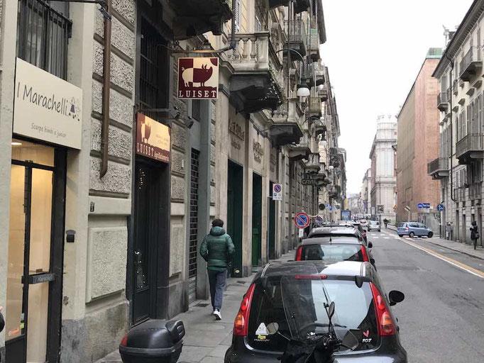 via Principe Amedeo a Torino