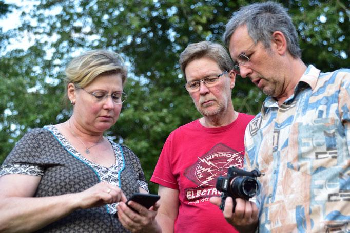 da ist die App zur Kamerafernsteuerung über Wlan