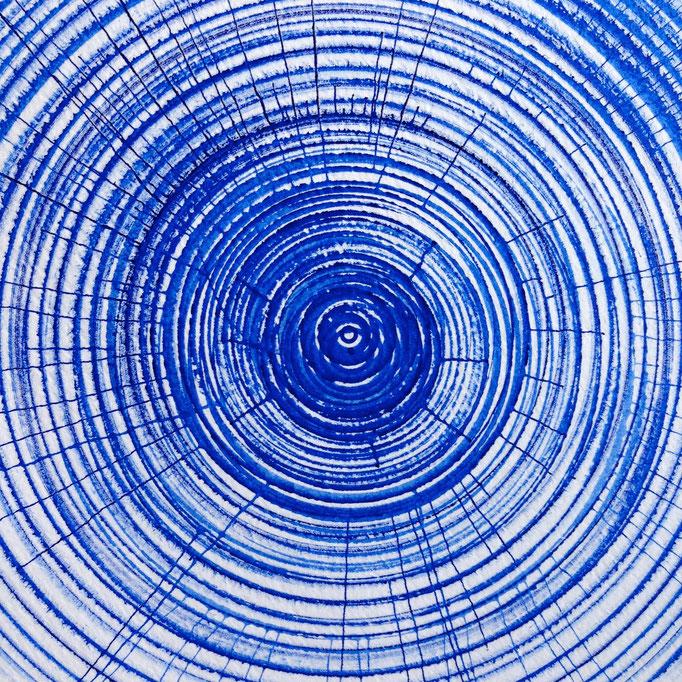 fine blue line