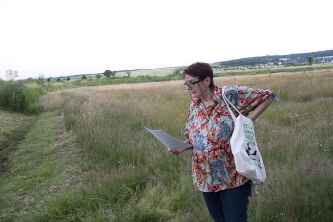 Ellen Wortmann bei ihrer Märchenerzählung