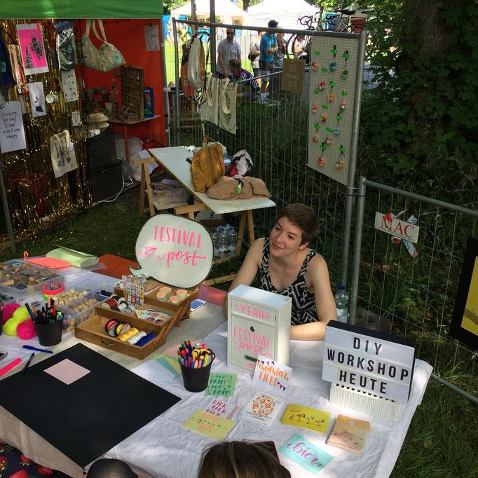 Die Festival-Post von Bastelkiosk und keks handgemachtes