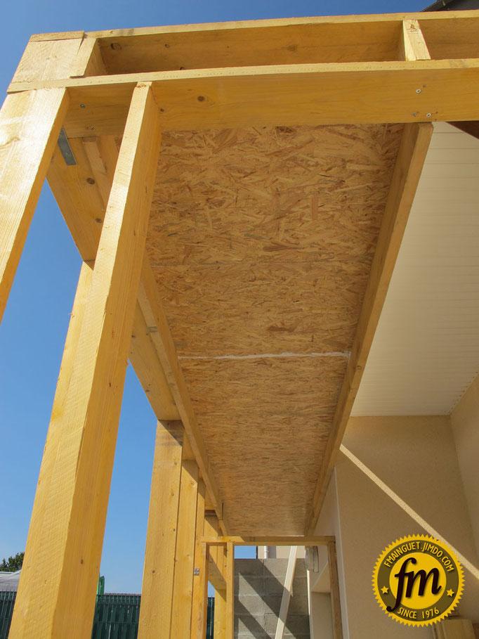 Extension maison en ossature bois site de fr d ric mainguet for Osb bricoman