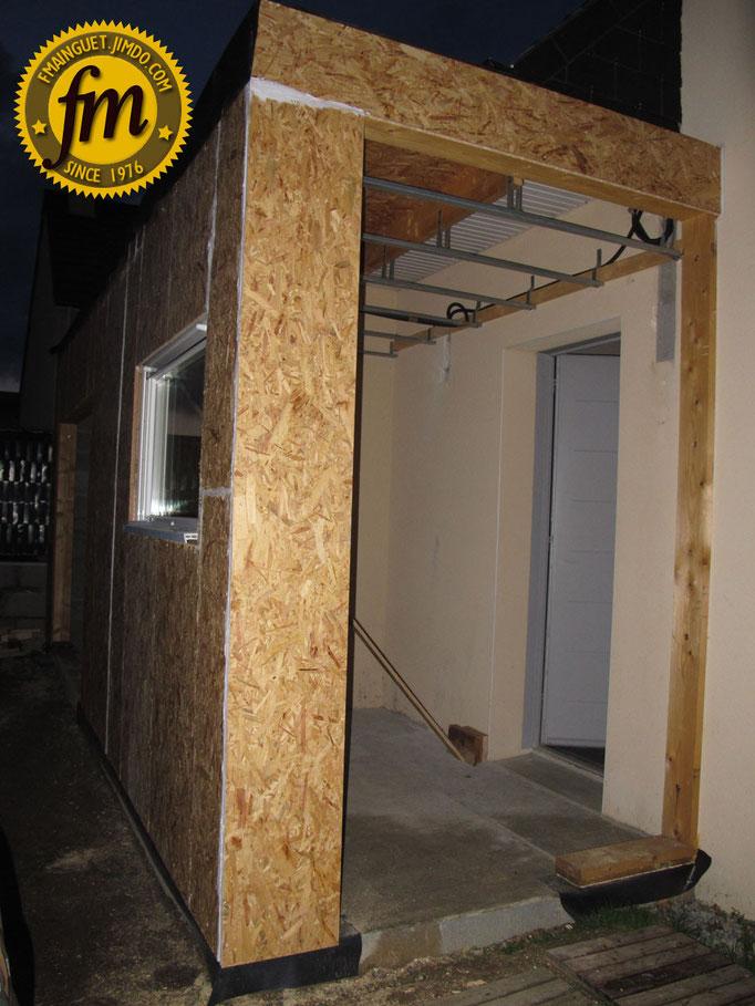 extension maison en ossature bois site de fr d ric mainguet. Black Bedroom Furniture Sets. Home Design Ideas