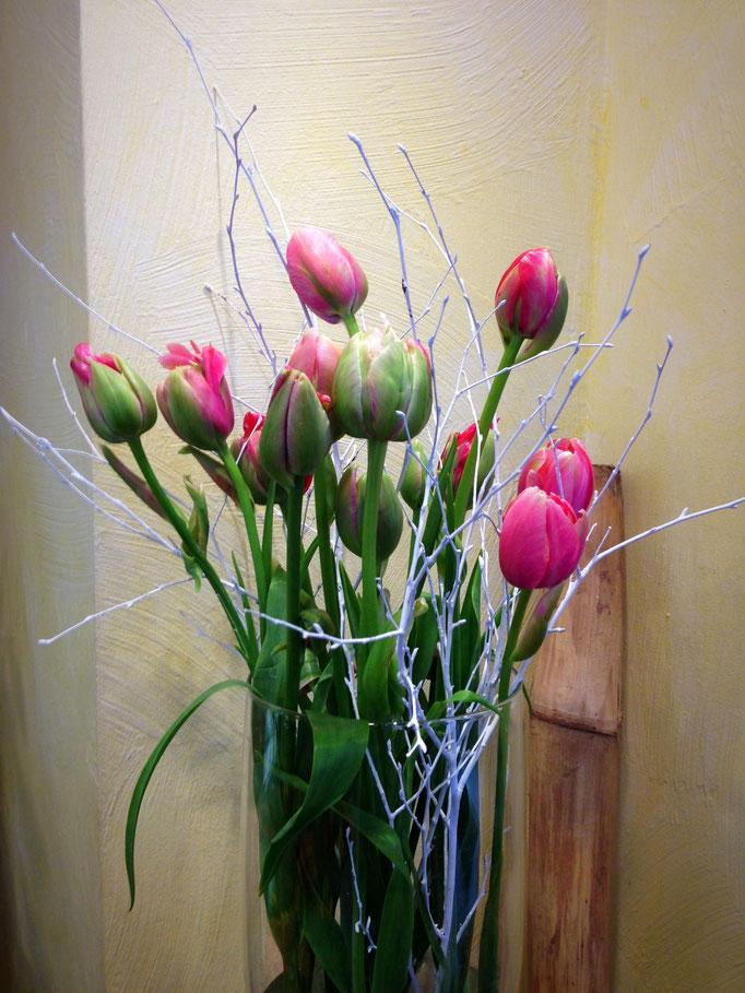 französische Tulpen